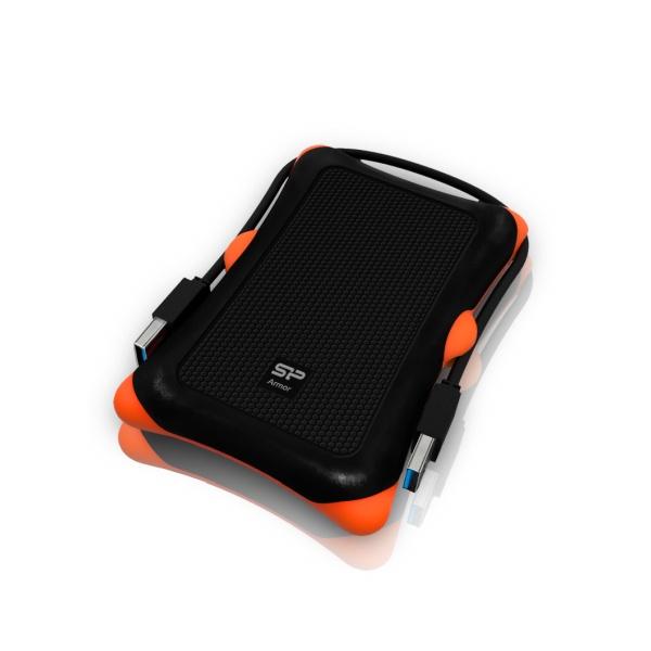 Odolný externí HDD Silicon Power Armor A30, USB 3.0, 1TB, černý