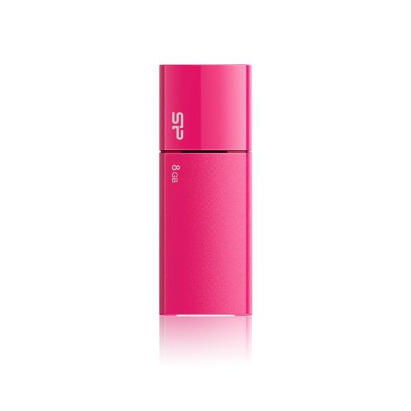 USB flash disk Silicon Power Ultima U05, 8GB, USB 2.0, růžový