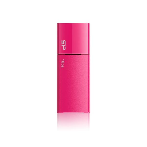 USB flash disk Silicon Power Ultima U05, 16GB, USB 2.0, růžový