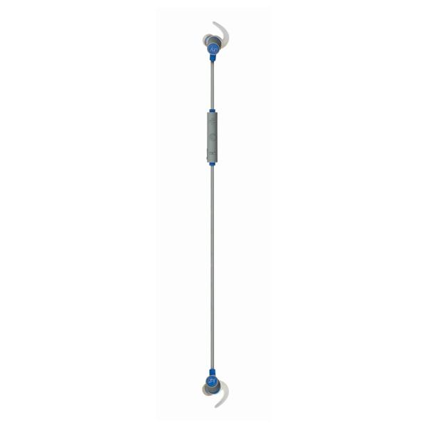 Sportovní bezdrátová sluchátka KITSOUND OUTRUN Sports s mikrofonem, modrá