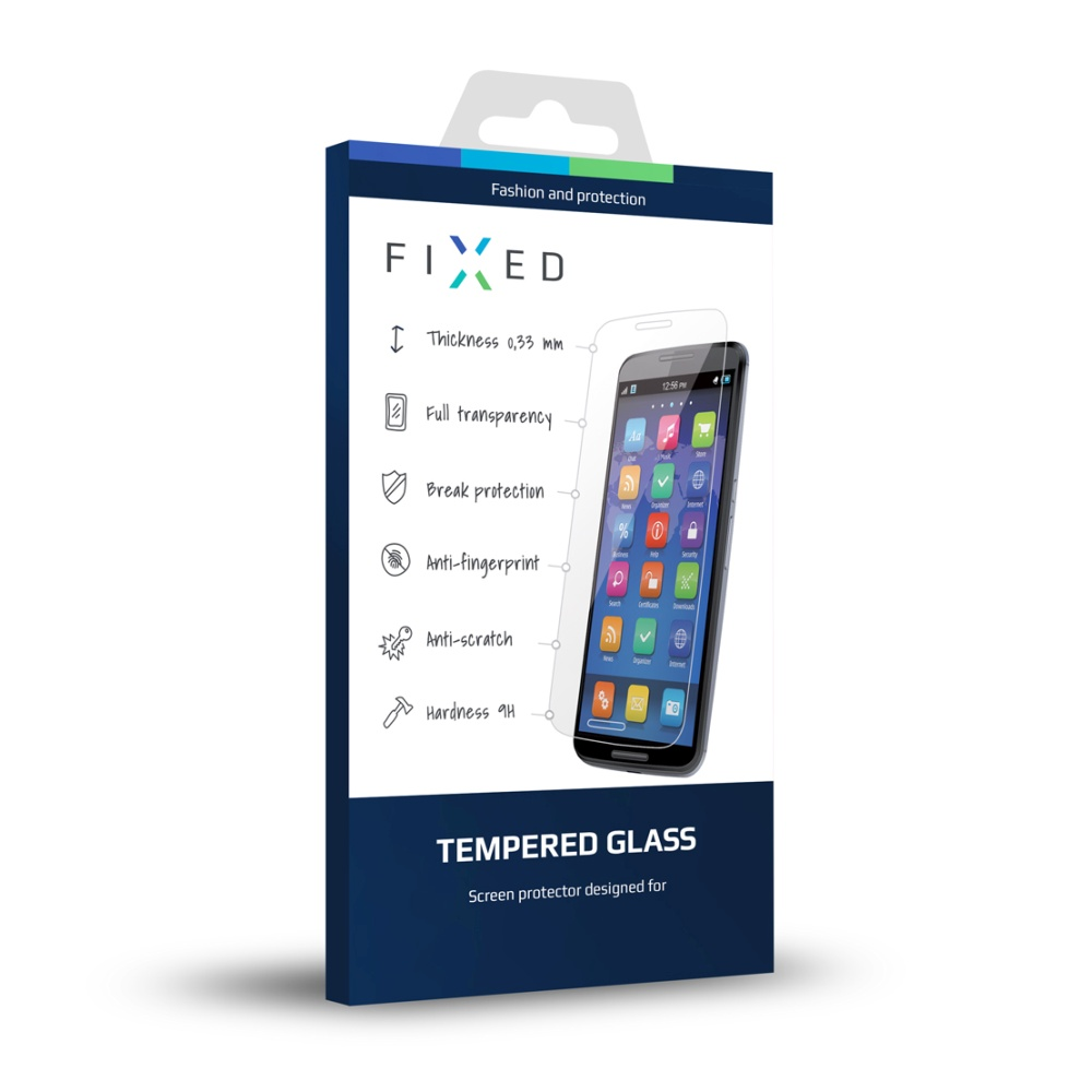 Ochranné tvrzené sklo FIXED pro Samsung Galaxy S4 mini, čiré
