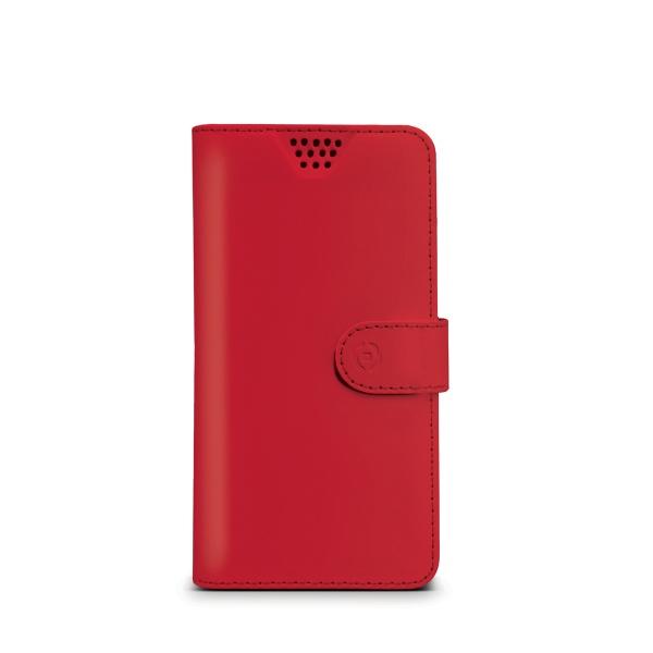 """Pouzdro typu kniha CELLY Wally Unica, velikost L, 4"""" - 4.5"""", červené"""