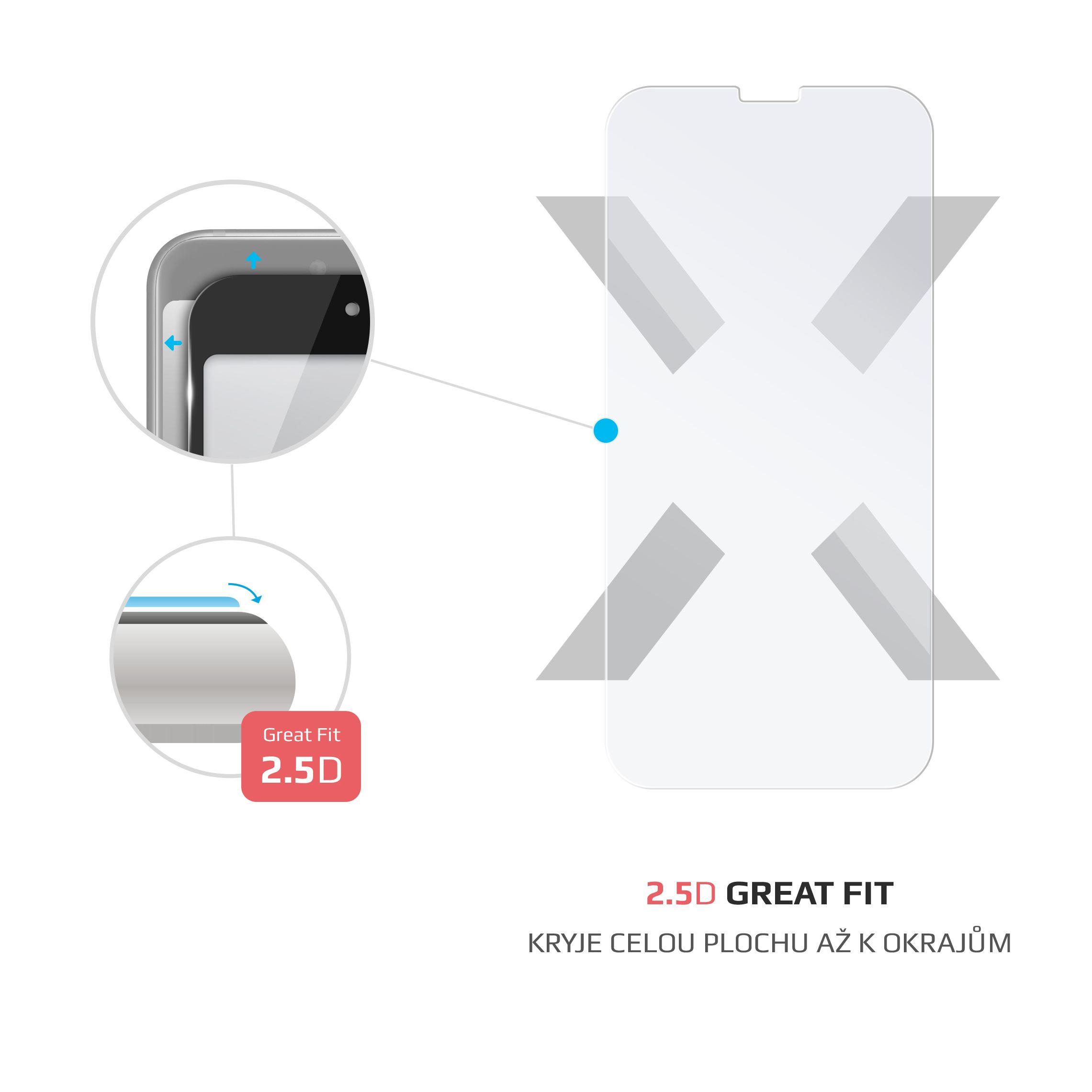 Ochranné tvrzené sklo FIXED pro Moto G (3. generace), čiré