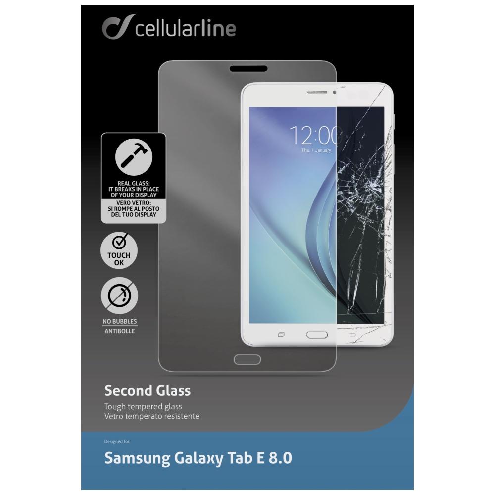 """Ochranné tvrzené sklo CellularLine Glass pro Samsung Galaxy TAB E 8.0"""""""