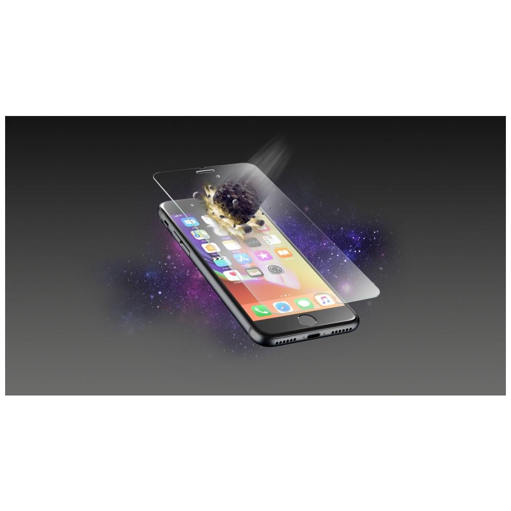 Prémiové ochranné tvrzené sklo Cellularline TETRA FORCE GLASS pro Apple iPhone 7/8