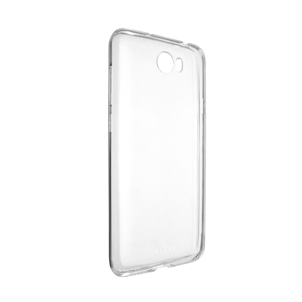 Ultratenké TPU gelové pouzdro FIXED Skin pro Huawei Y6 II Compact, 0,6 mm, čiré