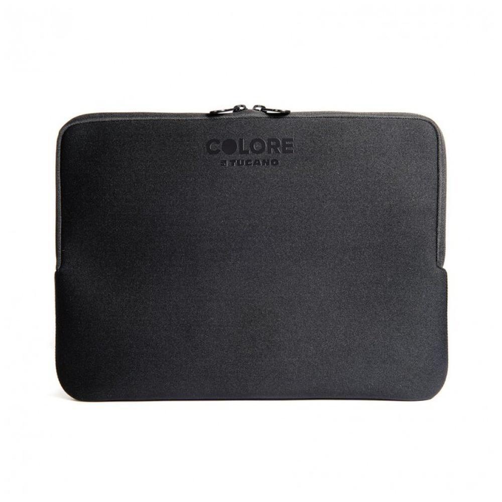 "Neoprenový obal TUCANO COLORE, pro notebooky a ultrabooky do 12,5"", Anti-Slip Systém®, černý"