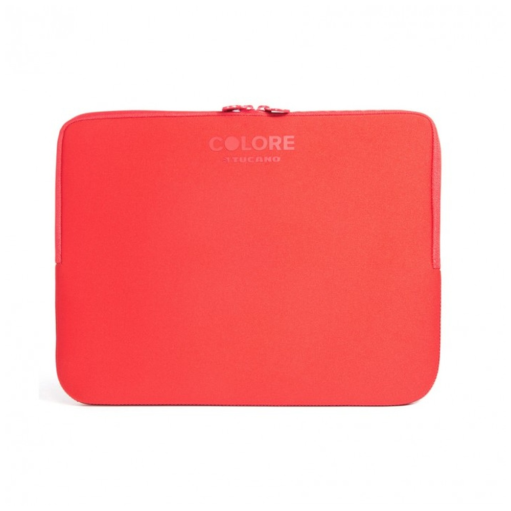 """Neoprenový obal TUCANO COLORE, pro notebooky a ultrabooky do 12,5"""", Anti-Slip Systém®, červený"""