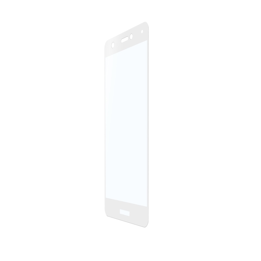 Ochranné tvrzené sklo pro celý displej Cellularline CAPSULE pro Huawei Nova, bílé