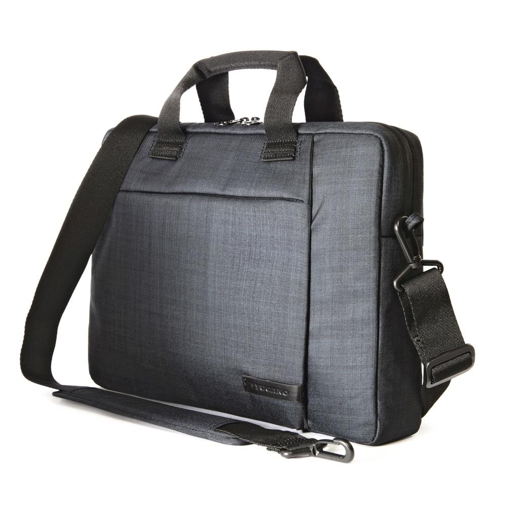 """Brašna TUCANO SVOLTA SMALL pro notebooky do 12,5"""", extra polstrování, černá"""