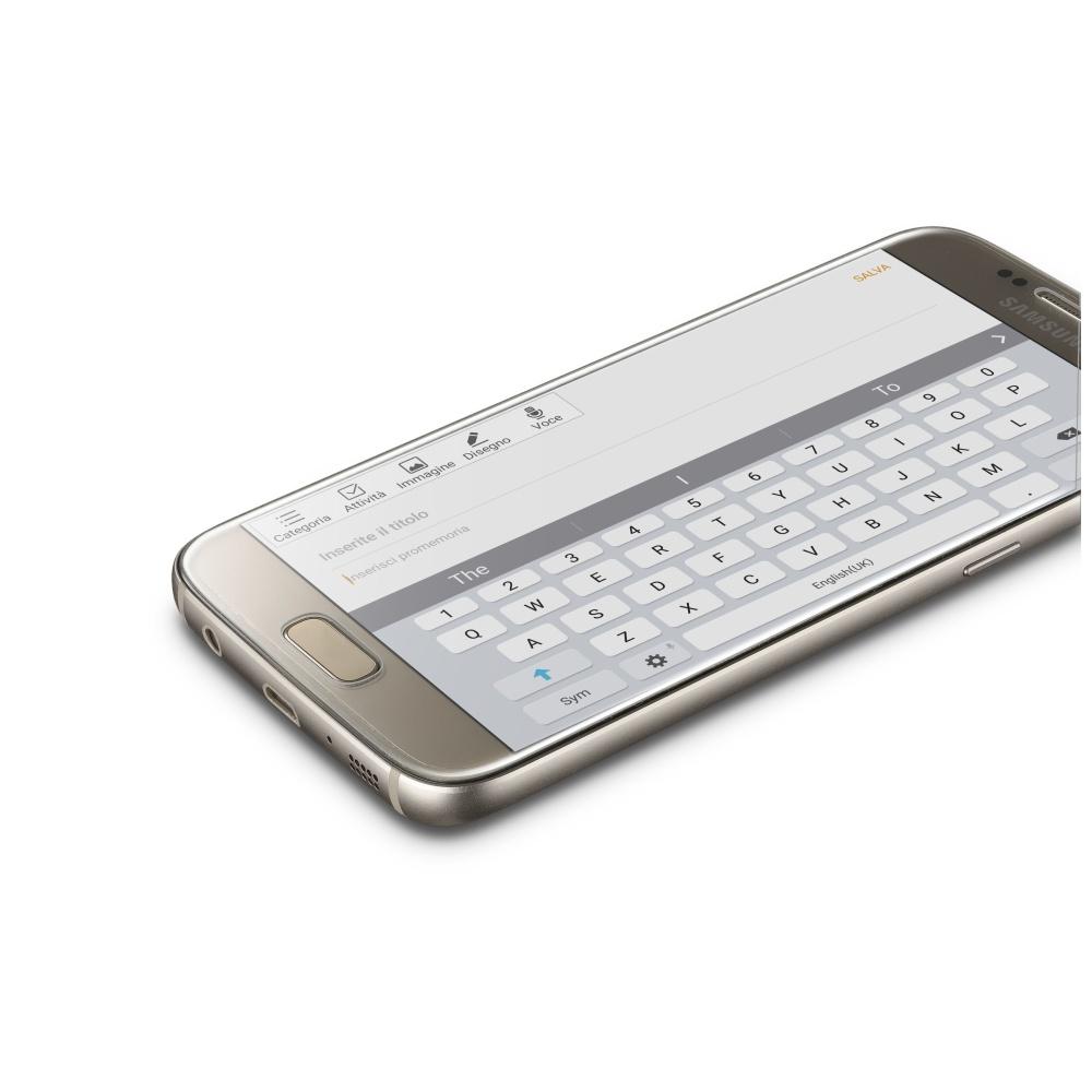 Ochranné tvrzené sklo pro celý displej Cellularline CAPSULE pro Samsung Galaxy S7, čiré