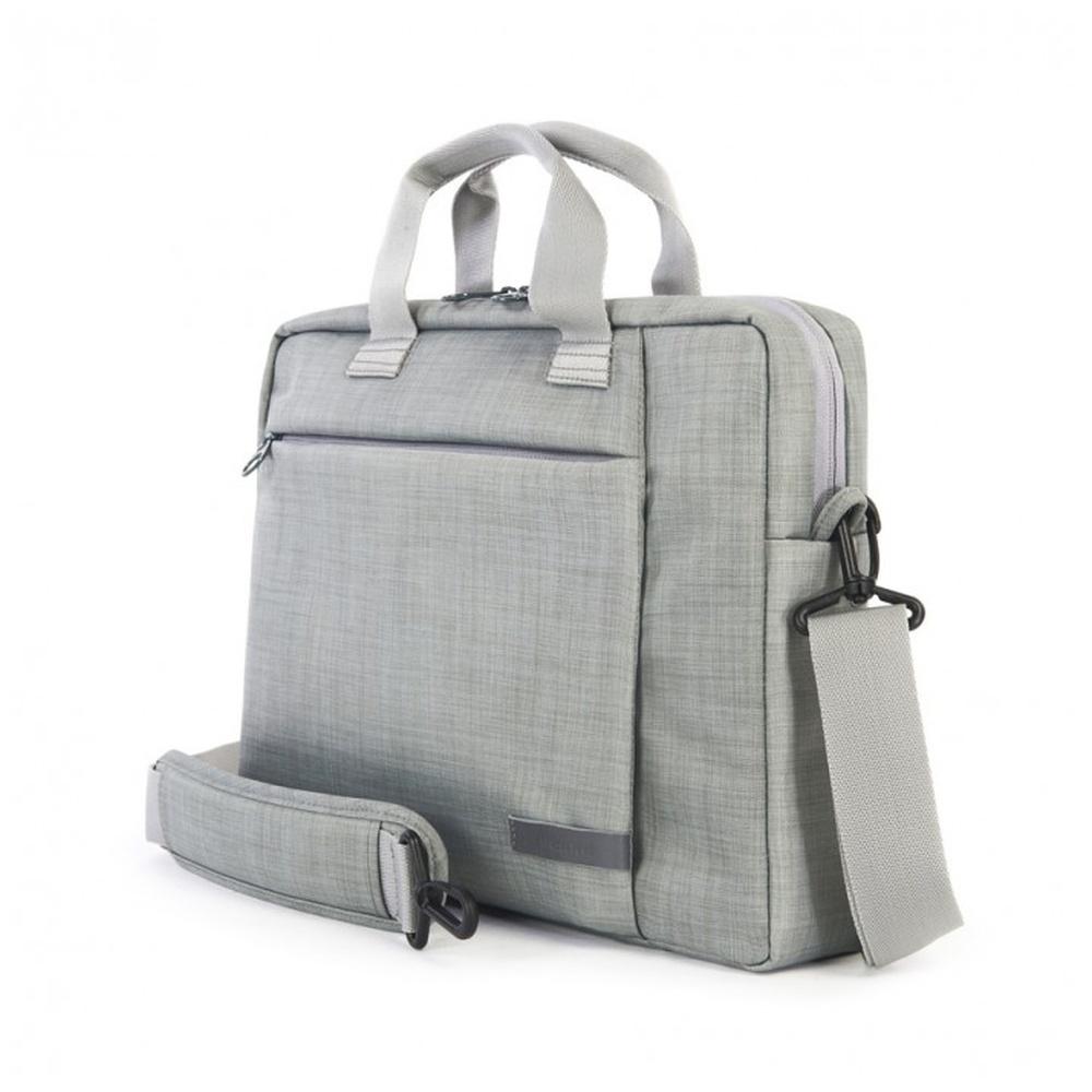 """Brašna TUCANO SVOLTA SMALL pro notebooky do 12,5"""", extra polstrování, šedá"""