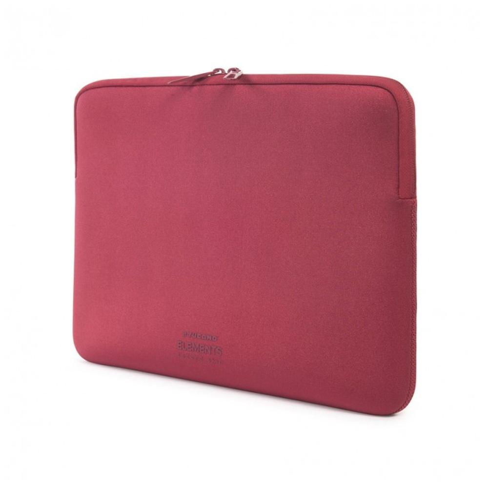 """Neoprenový obal TUCANO ELEMENTS SECOND SKIN pro MacBook Air 11"""", Anti-Slip Systém®, červený"""