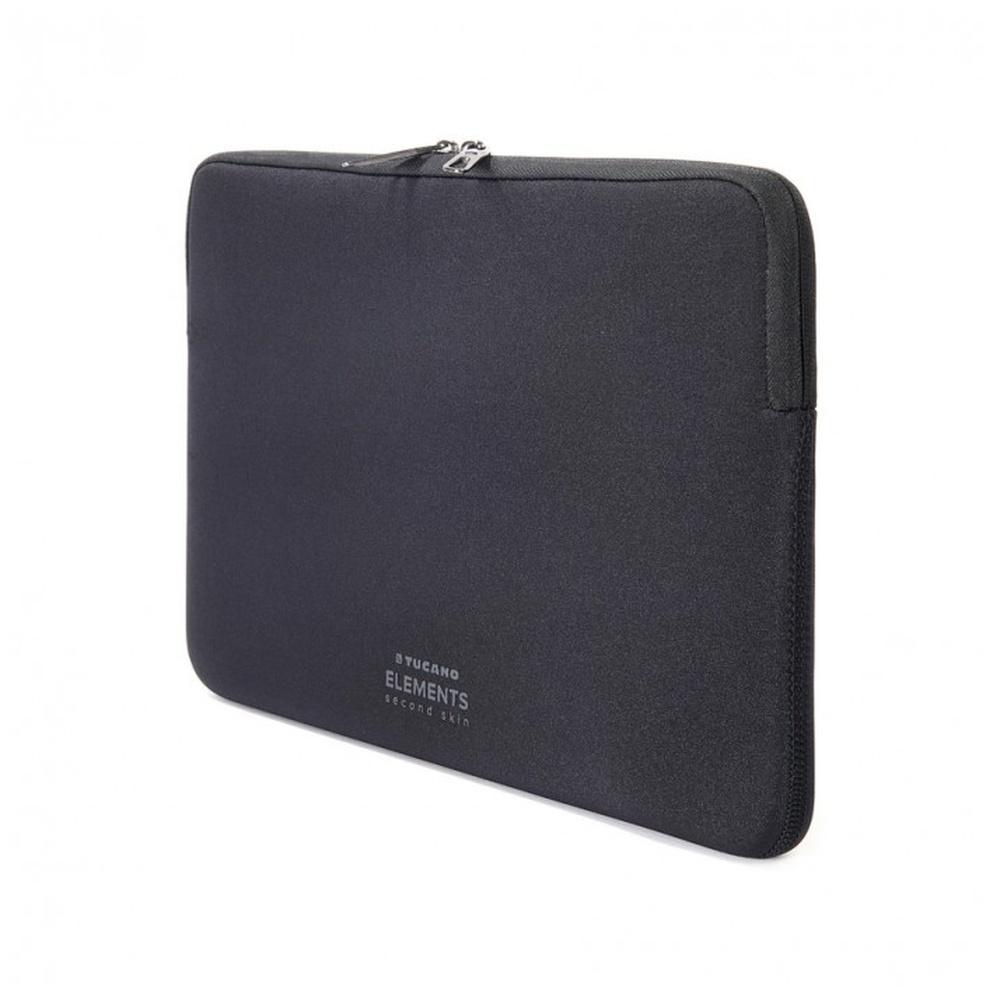 """Neoprenový obal TUCANO ELEMENTS SECOND SKIN pro MacBook Air 11"""", Anti-Slip Systém®, černý"""
