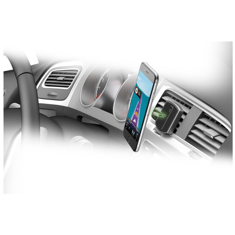 Magnetický držák do ventilace Cellularline MAG4 HANDY FORCE DRIVE, černý