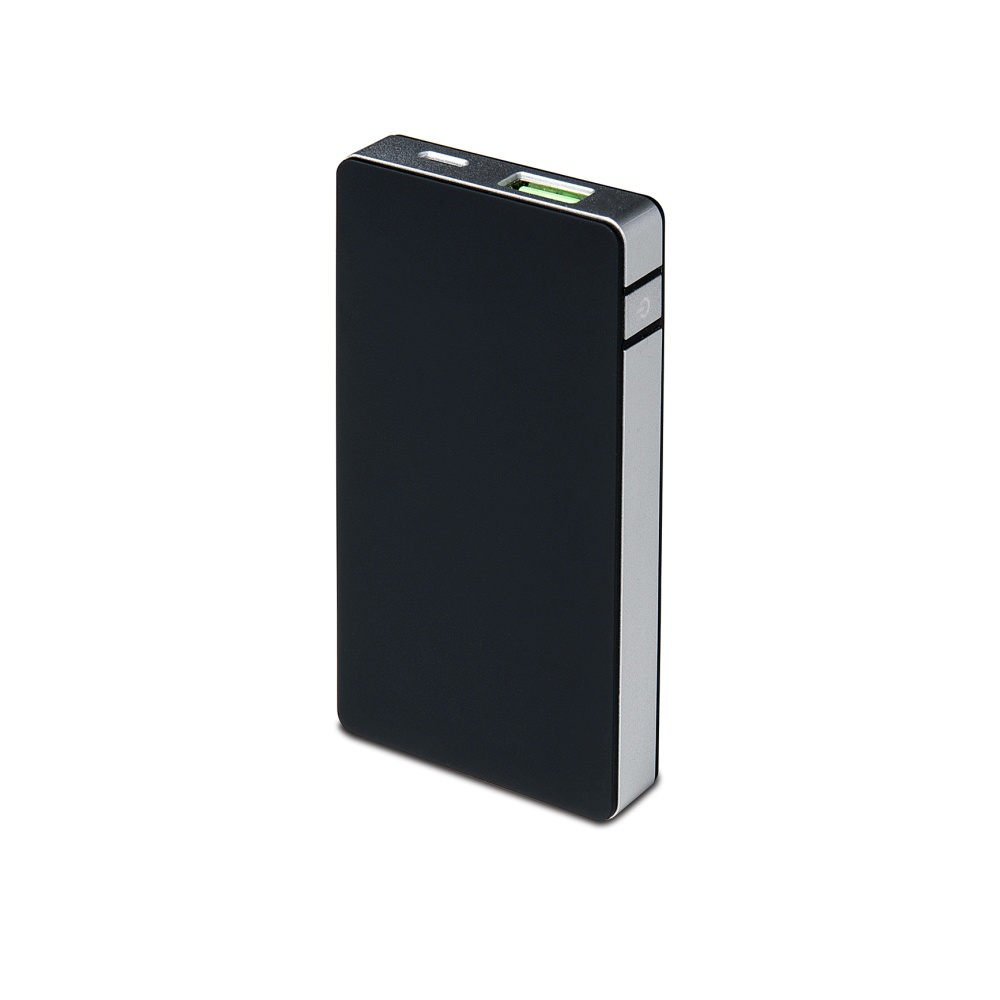 Powerbanka CELLY s USB výstupem, 4000 mAh, 1.5 A, Lightning konektor, stříbrná