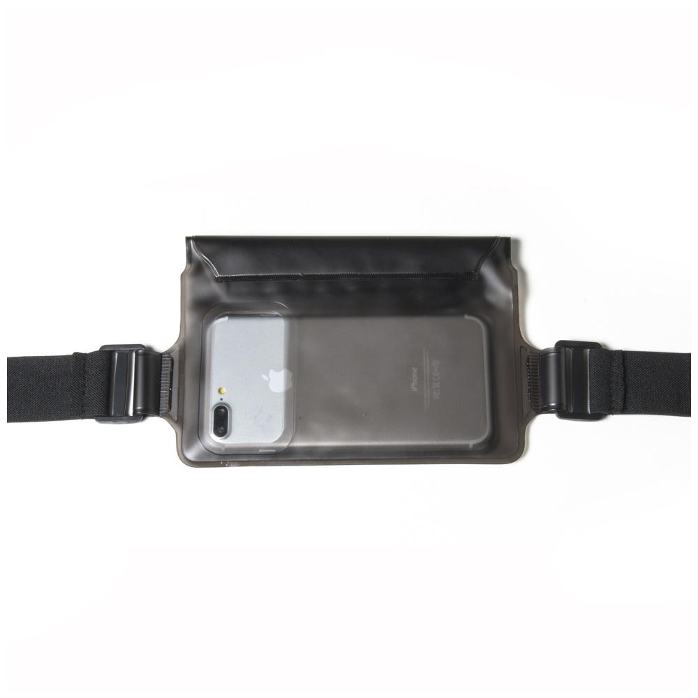"""Sportovní voděodolné pouzdro okolo pasu CELLY Splash Belt pro telefony 5,7 """", černé"""