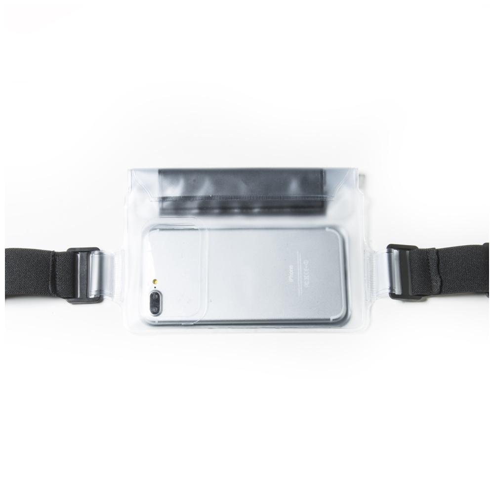 """Sportovní voděodolné pouzdro okolo pasu CELLY Splash Belt pro telefony 5,7 """", bílé"""
