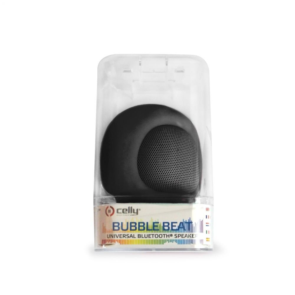 Bluetooth reproduktor CELLY Bubble Beat, černý