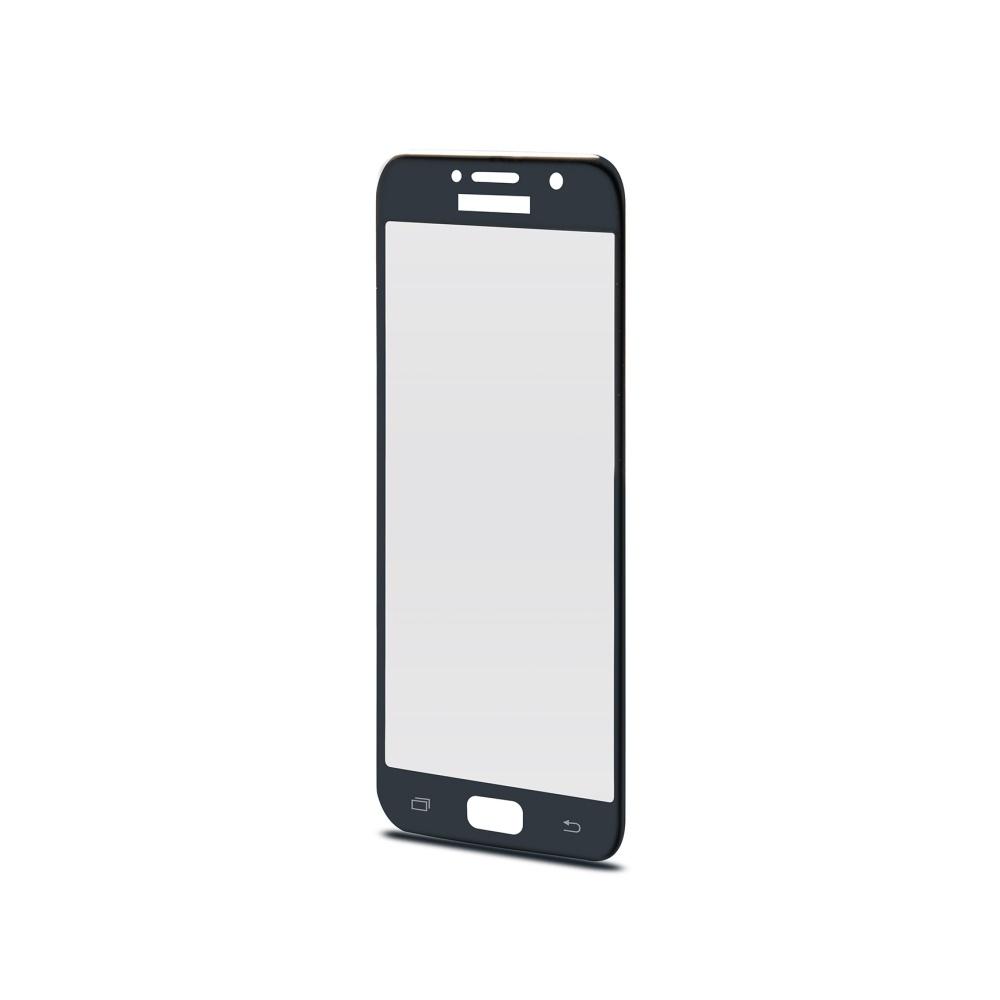 Ochranné tvrzené sklo CELLY 3D Glass pro Samsung Galaxy A3 (2017), černé (sklo do hran displeje, anti blue-ray)