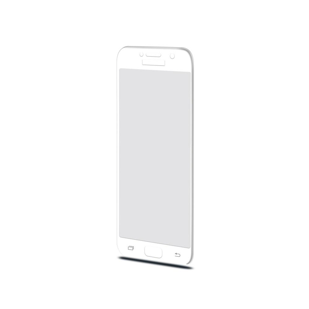 Ochranné tvrzené sklo CELLY 3D Glass pro Samsung Galaxy A3 (2017), bílé (sklo do hran displeje, anti blue-ray)
