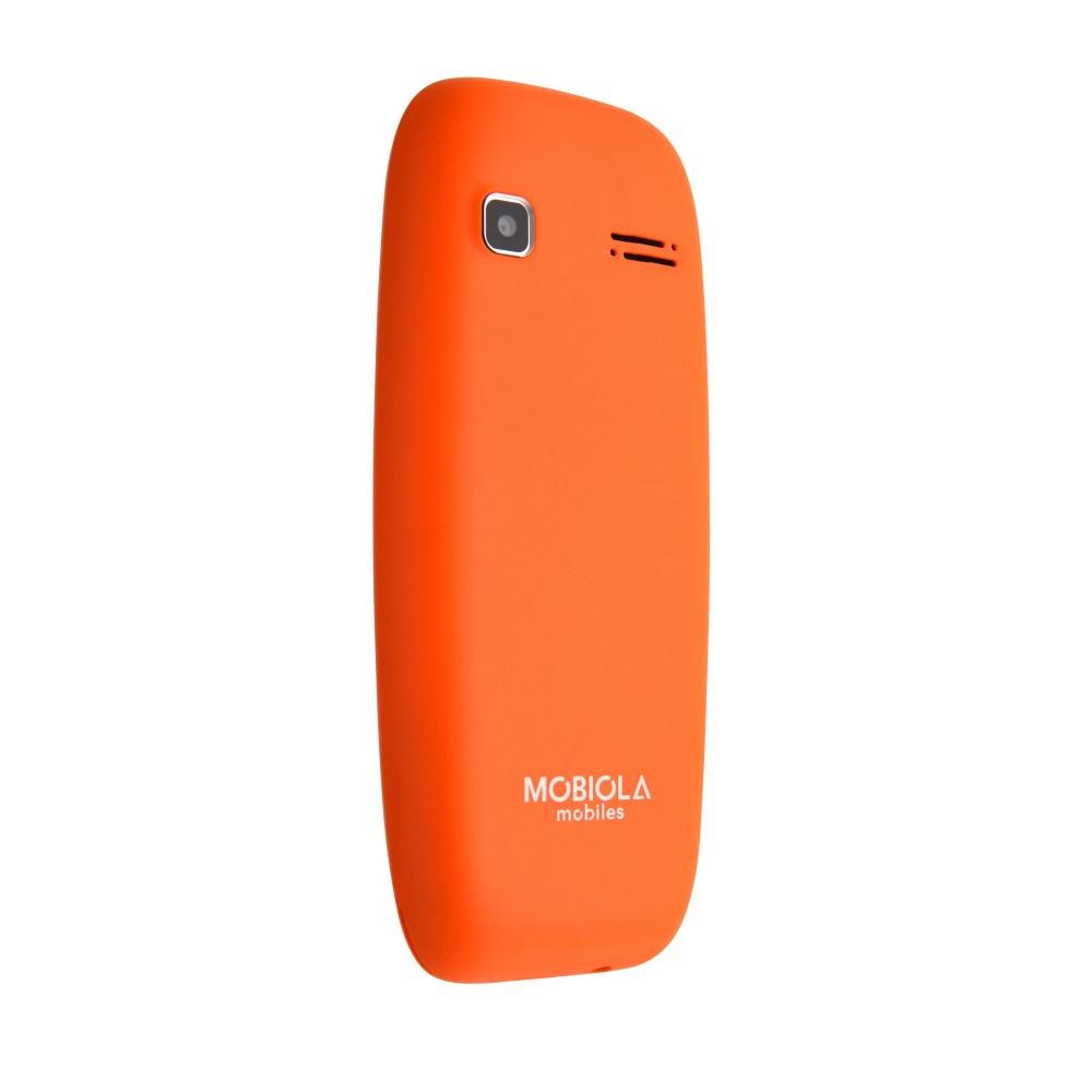 Mobilní telefon Mobiola MB3000, oranžový