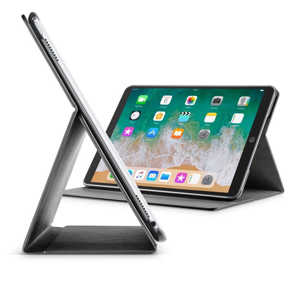 """Pouzdro se stojánkem CellularLine FOLIO pro Apple iPad Pro 12,9"""" (2017), černé"""