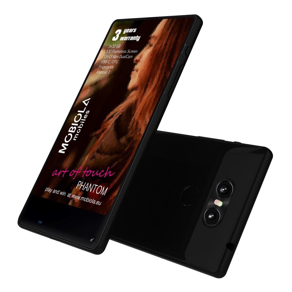 Mobilní dotykový telefon Mobiola PHANTOM, záruka 36 měsíců