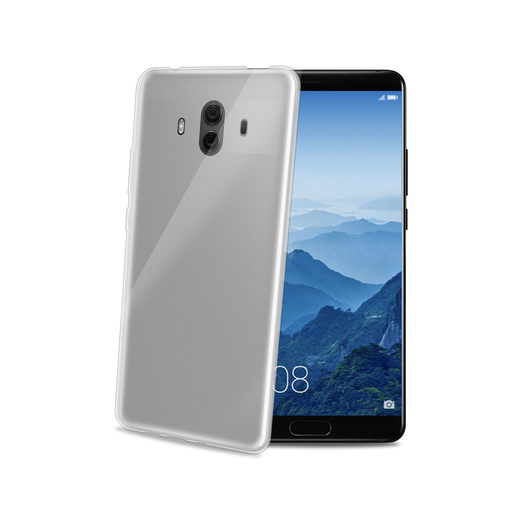 TPU pouzdro CELLY Gelskin pro Huawei Mate 10, bezbarvé