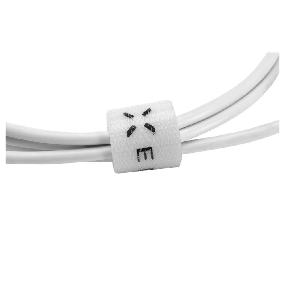 Datový a nabíjecí kabel FIXED s konektorem micro USB, 2,4A, bílý
