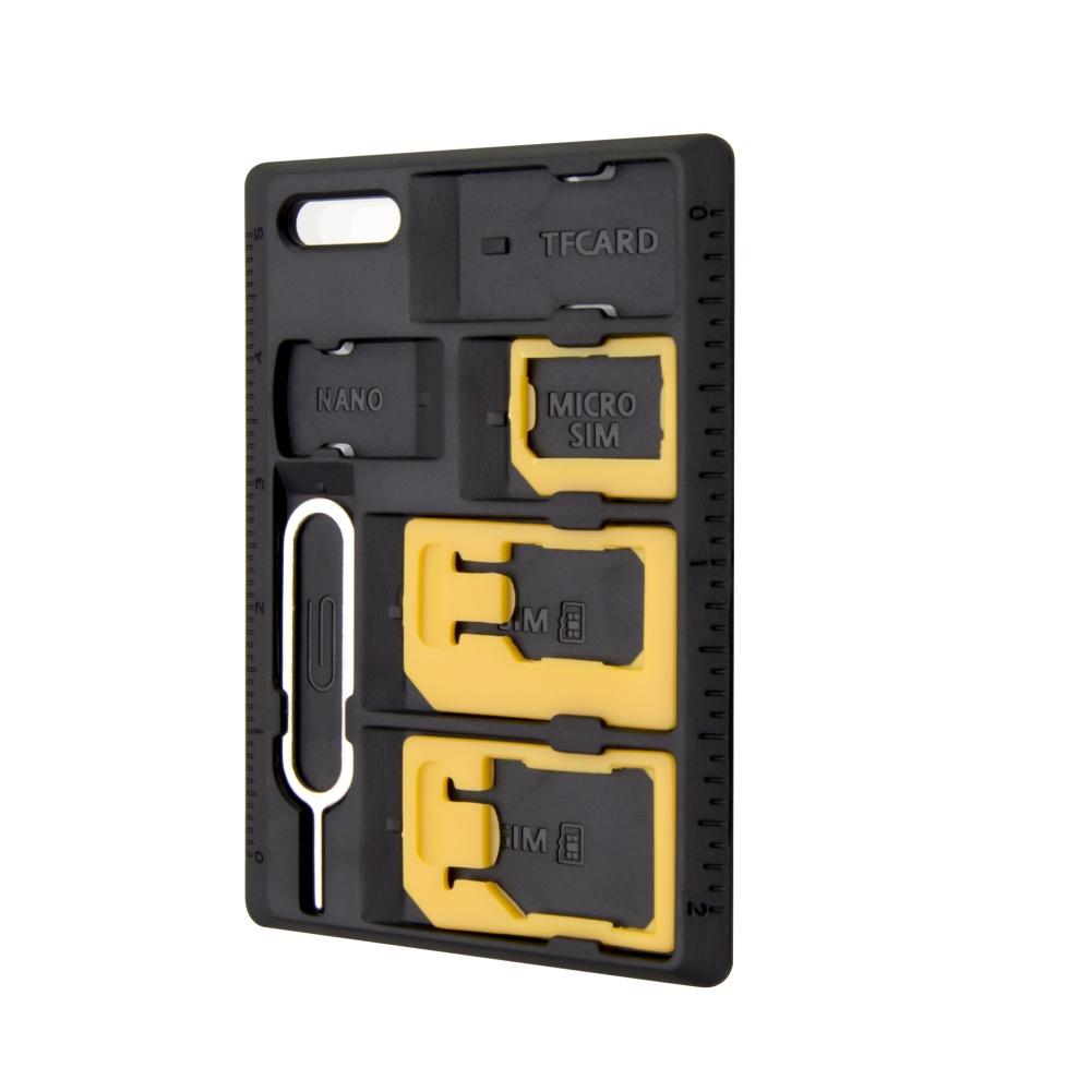 Adaptér SIM karet FIXED, nanoSIM na microSIM a miniSIM karty/z microSIM na mini SIM