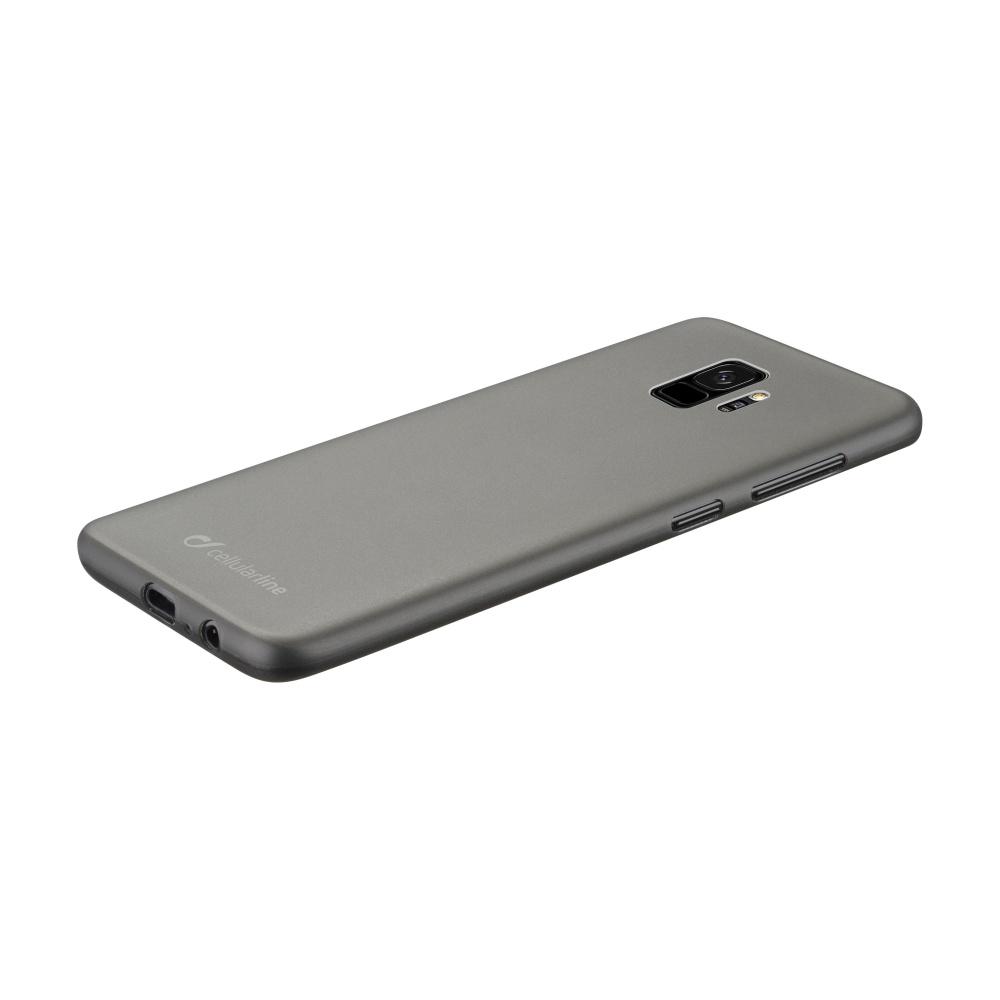 Ochranný zadní kryt Cellularline INK pro Samsung Galaxy S9, černý
