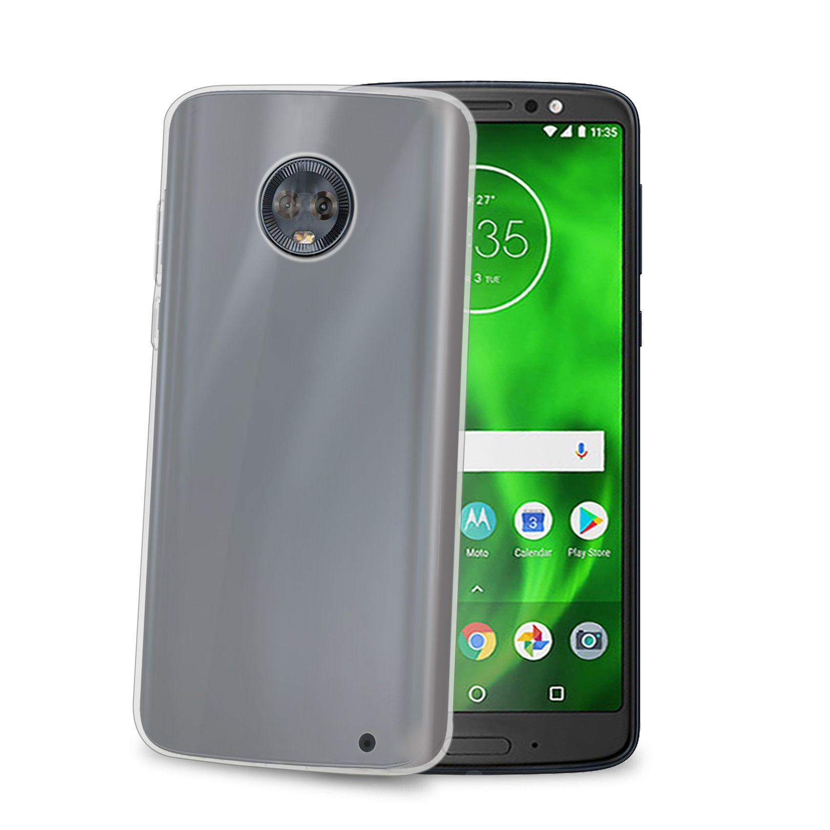 TPU pouzdro CELLY Gelskin pro Motorola Moto G6 Plus, bezbarvé