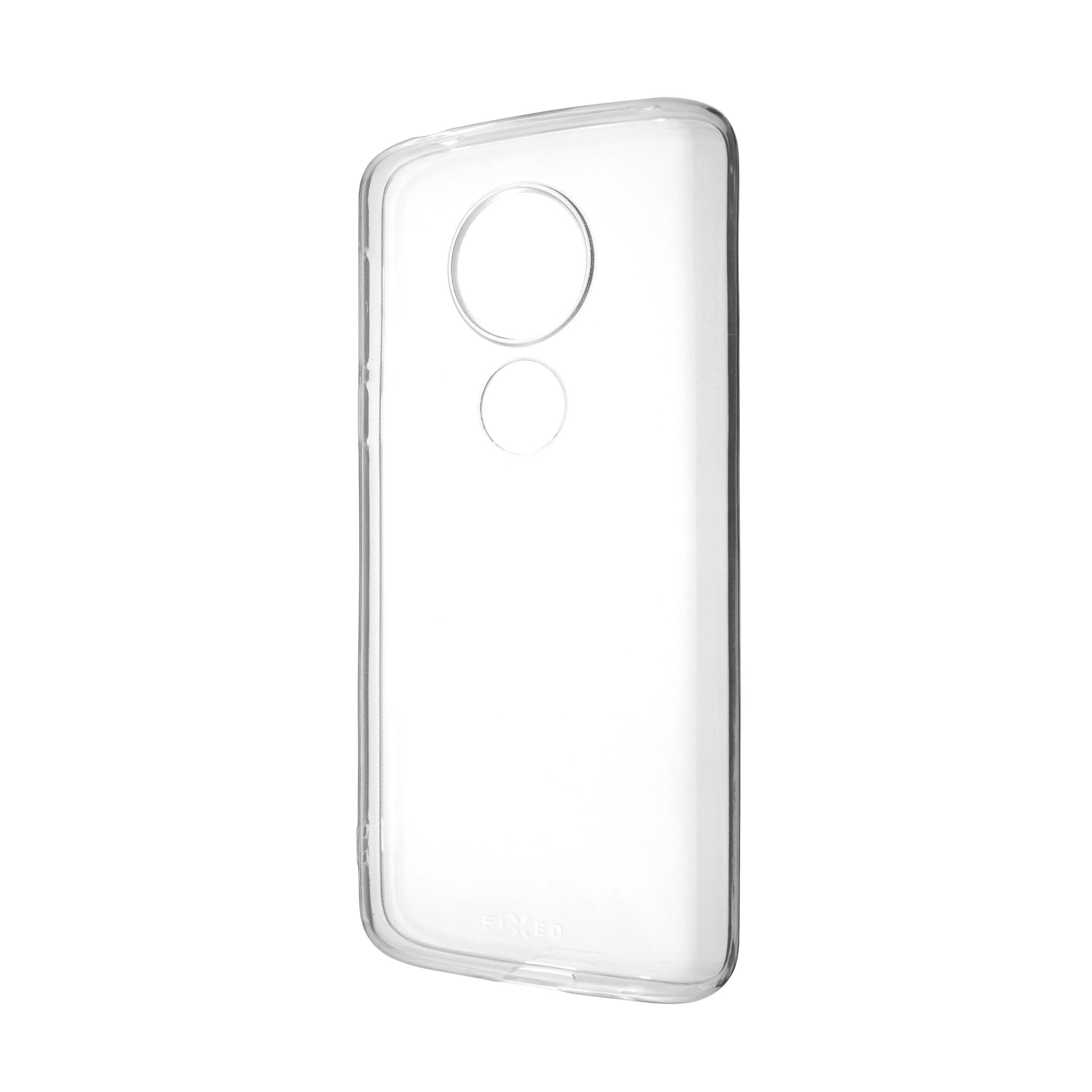 TPU gelové pouzdro FIXED pro Motorola Moto E5, čiré