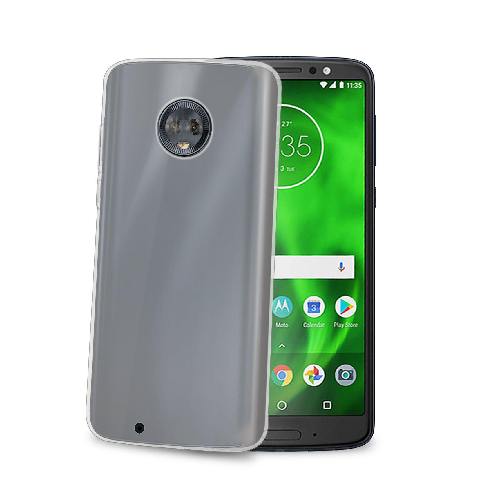 TPU pouzdro CELLY Gelskin pro Motorola Moto G6, bezbarvé
