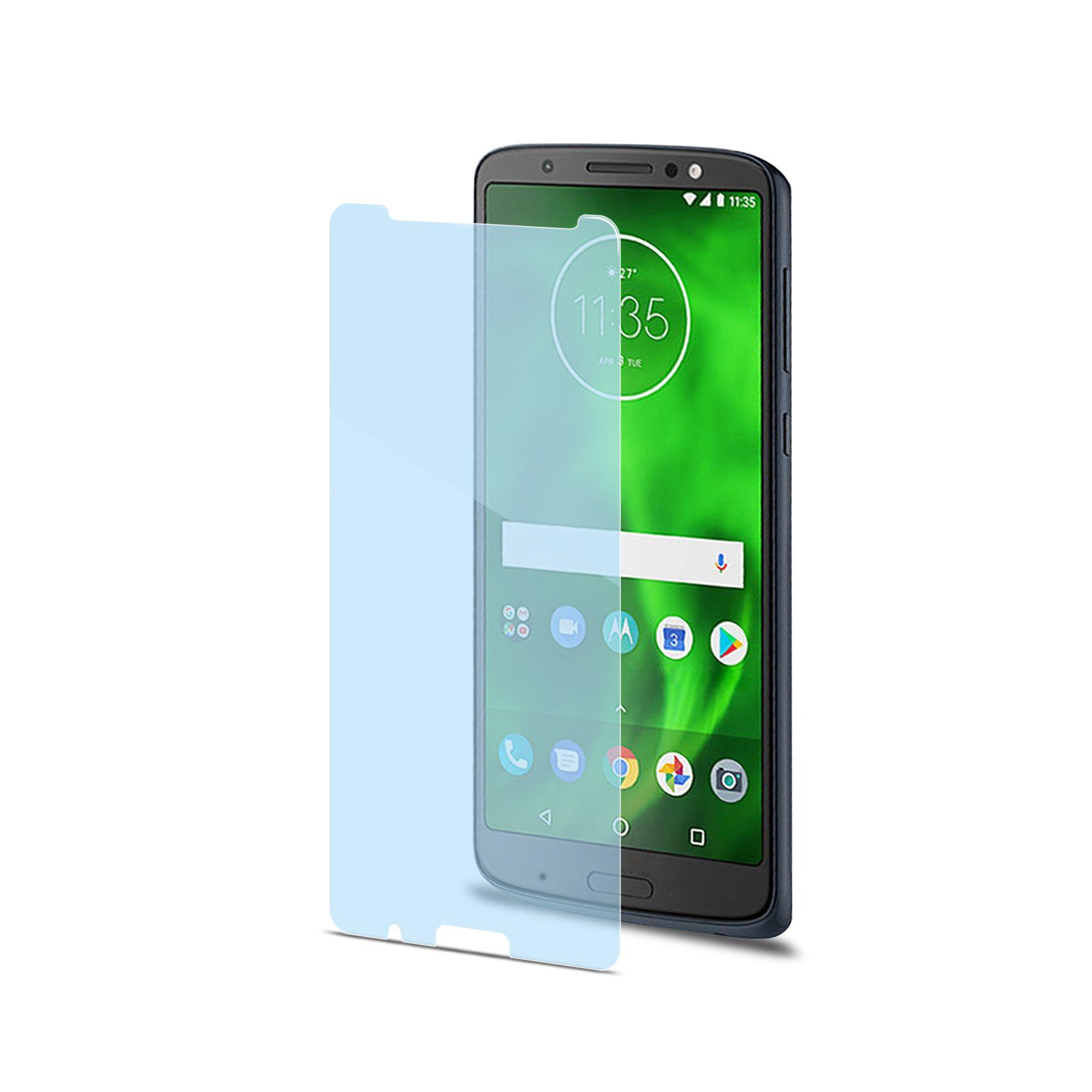 Ochranné tvrzené sklo CELLY Glass antiblueray pro Motorola Moto G6
