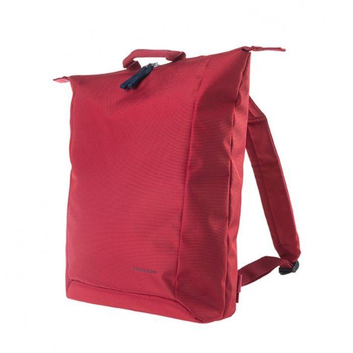 """Extratenký batoh Tucano SMILZO, vyrobený z high-tech materiálu, určený pro notebooky do 14"""", červený"""
