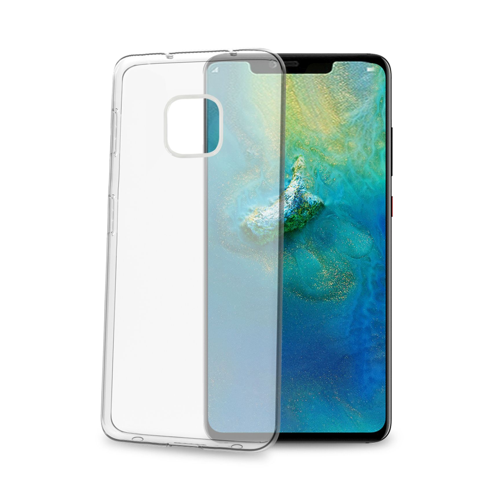 TPU pouzdro CELLY Gelskin pro Huawei Mate 20 Pro, bezbarvé