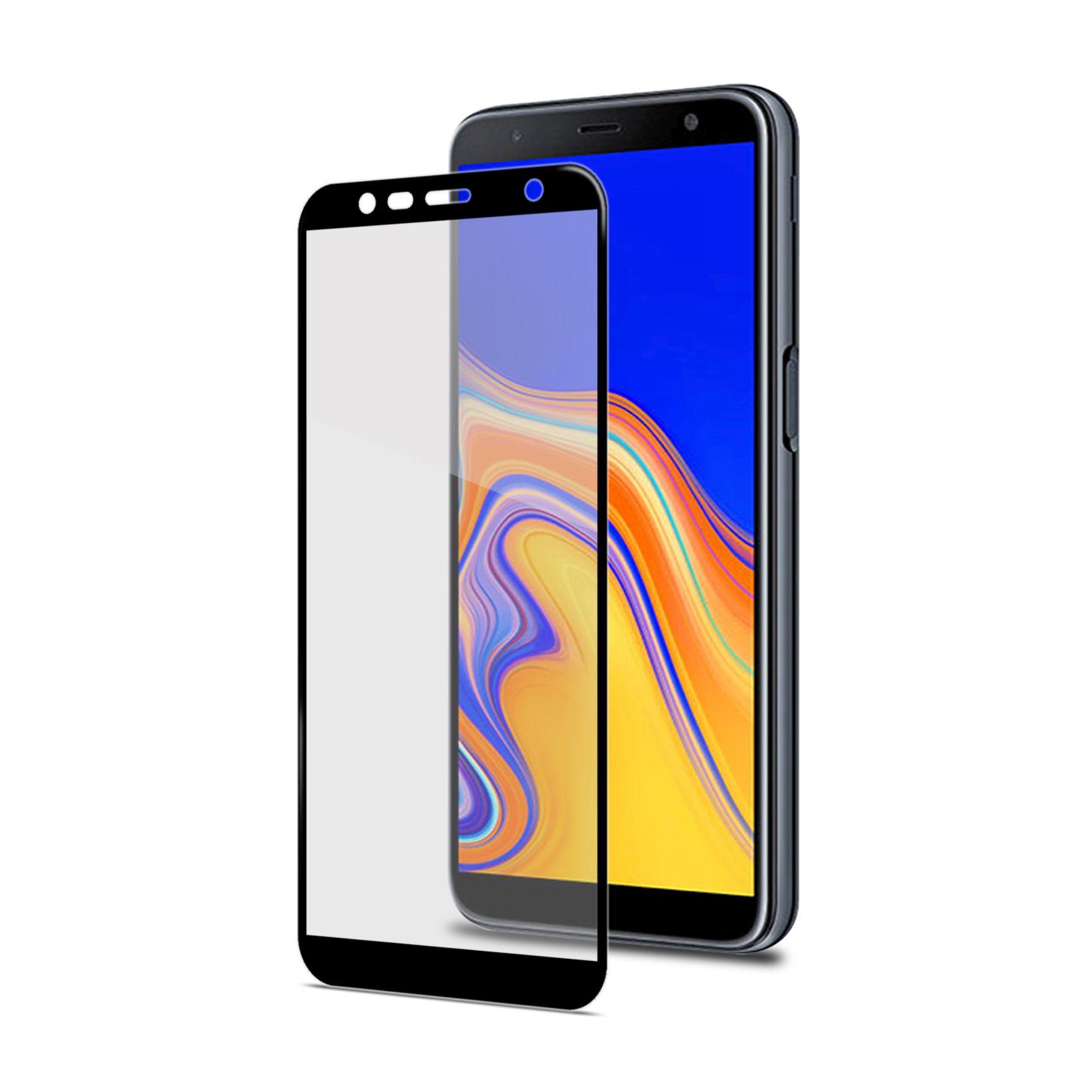 Ochranné tvrzené sklo CELLY Full Glass pro Samsung Galaxy J6+, černé