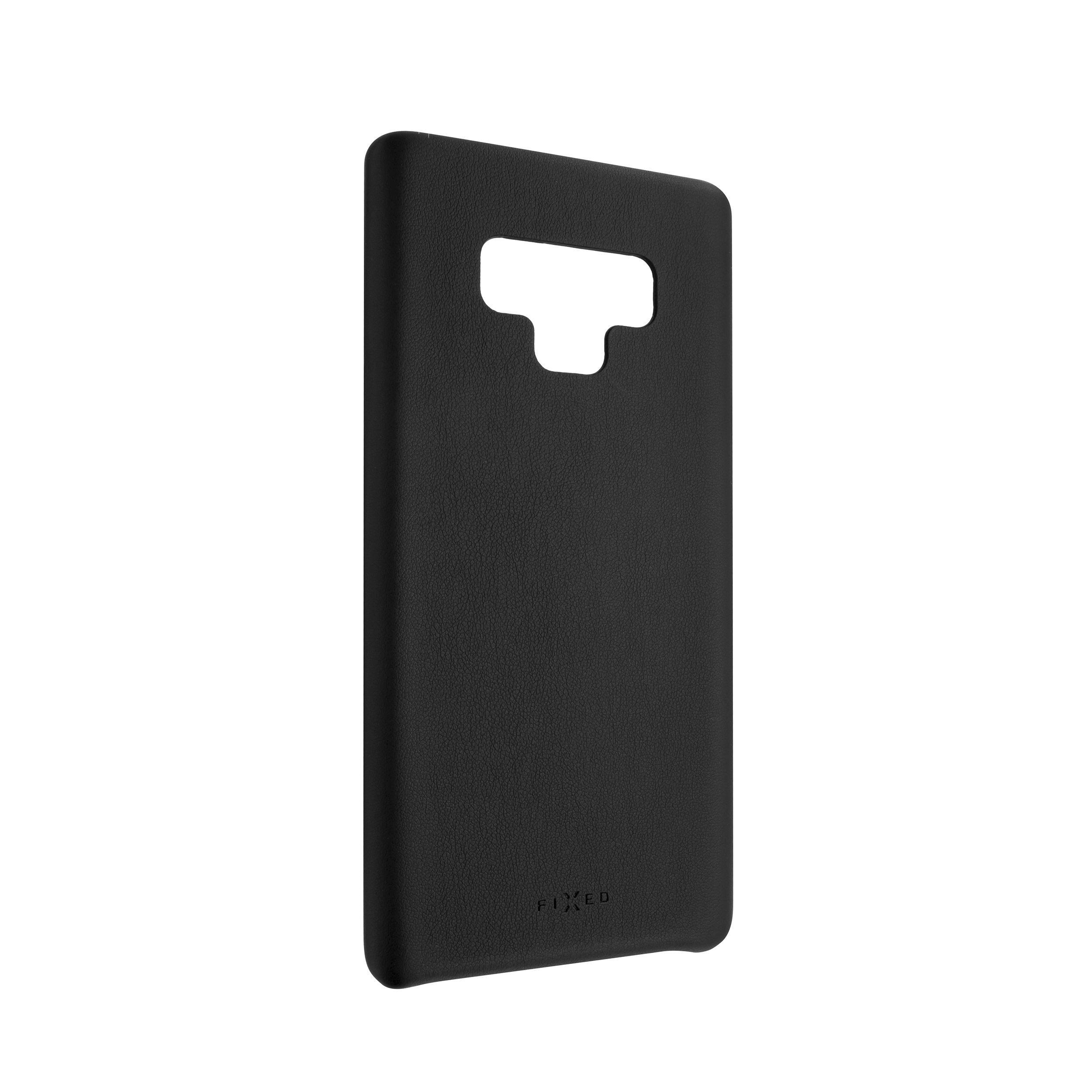 Zadní kryt FIXED Tale pro Samsung Galaxy Note 9, PU kůže, černý