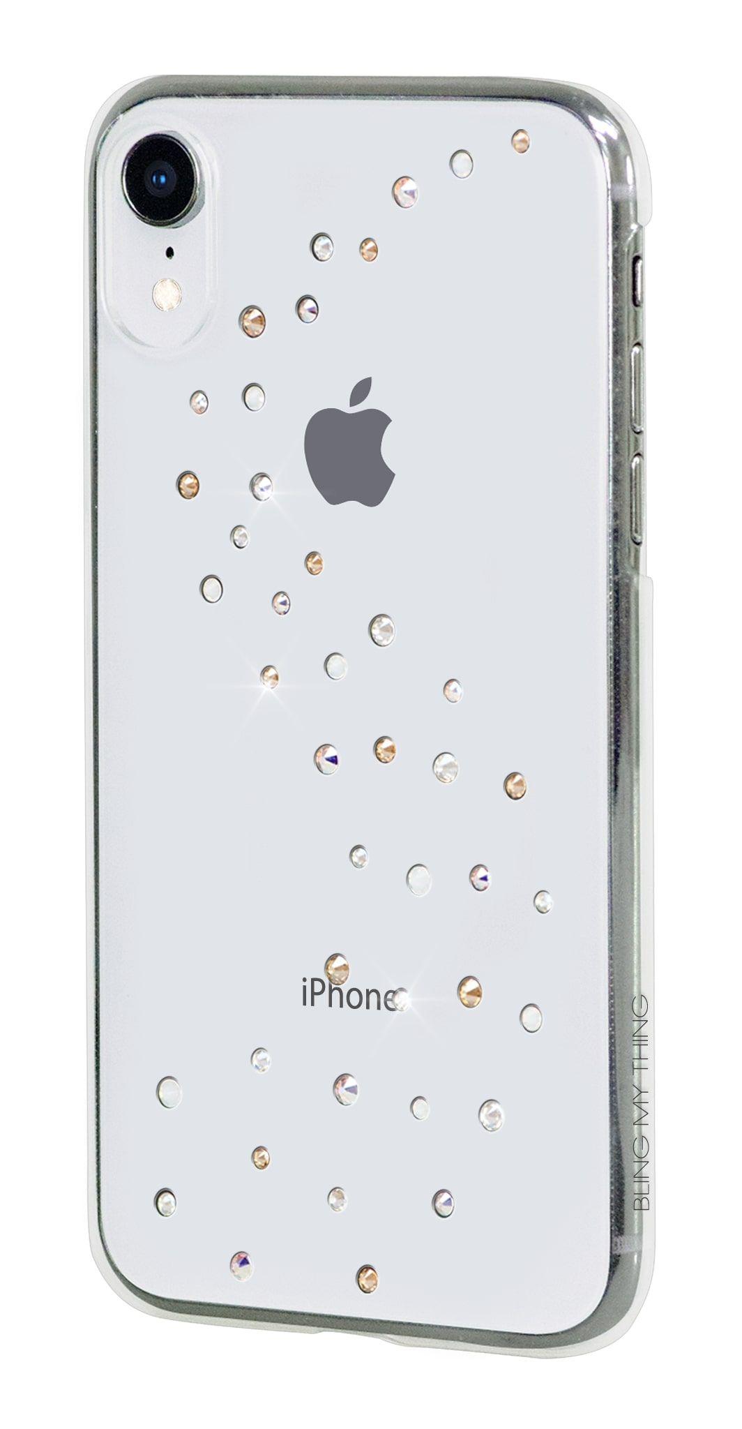 Zadní kryt Bling My Thing Milky Way Angel Tears pro Apple iPhone XR, krystaly Swarovski®, transparentní