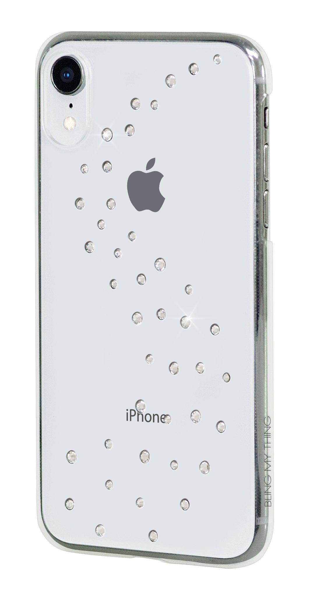 Zadní kryt Bling My Thing Milky Way Pure Brilliance pro Apple iPhone XR, krystaly Swarovski®, transparentní