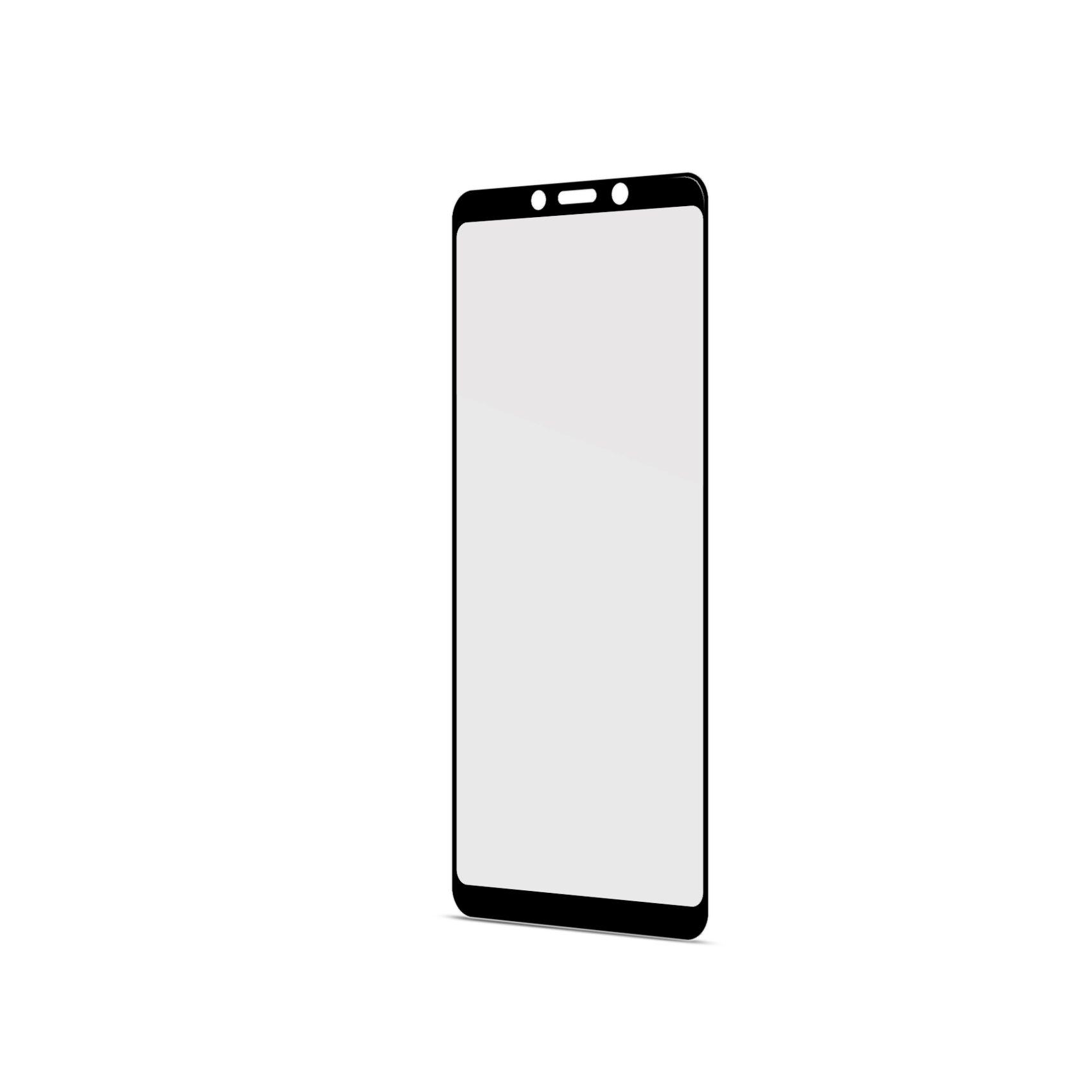 Ochranné tvrzené sklo CELLY Full Glass pro Samsung Galaxy A9 (2018), černé