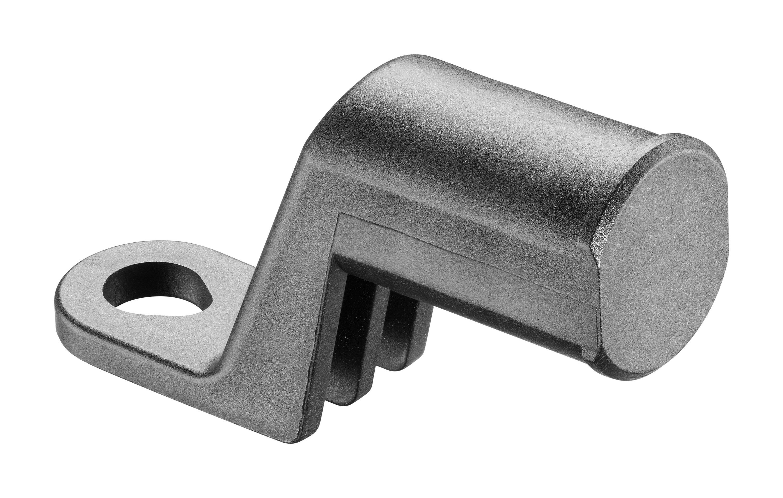 Nástavec Interphone Mirror Bracket pro držáky série Crab Line, montovatelný na zrcátko motocyklu, černý