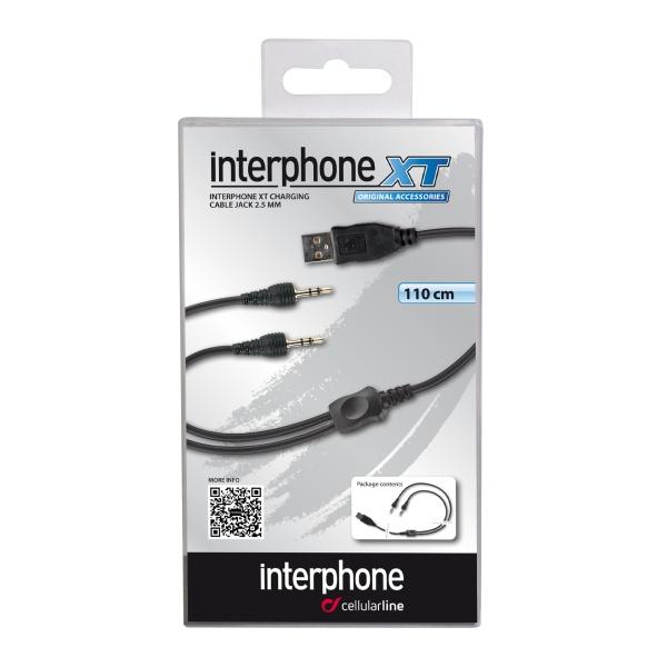 USB nabíjecí kabel pro 2 jednotky Interphone serie XT a MC