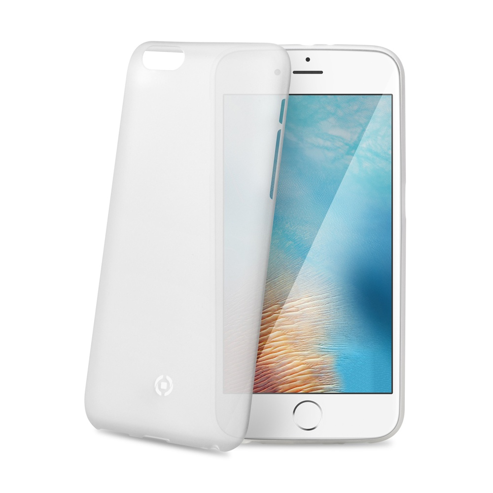 Ultra tenké TPU pouzdro CELLY Frost pro Apple iPhone 7 Plus/8 Plus, 0,29 mm, bílé