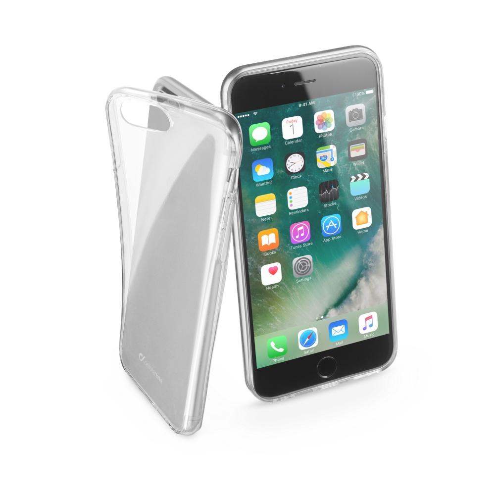 Extratenký zadní kryt CellularLine Fine pro Apple iPhone 7 Plus/8 Plus, bezbarvý