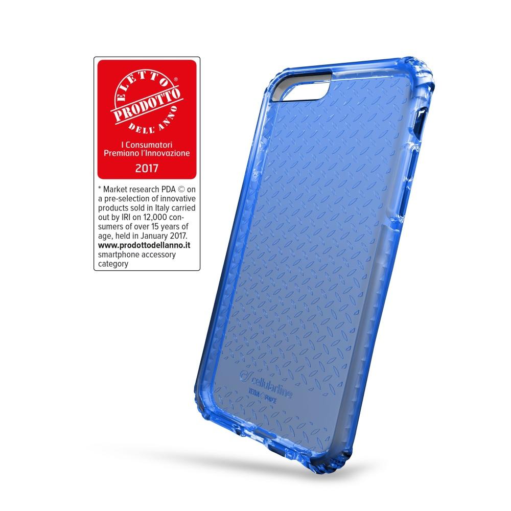 Ultra ochranné pouzdro Cellularline Tetra Force Shock-Twist pro Apple iPhone 7/8/SE (2020), 2 stupně ochrany, modré