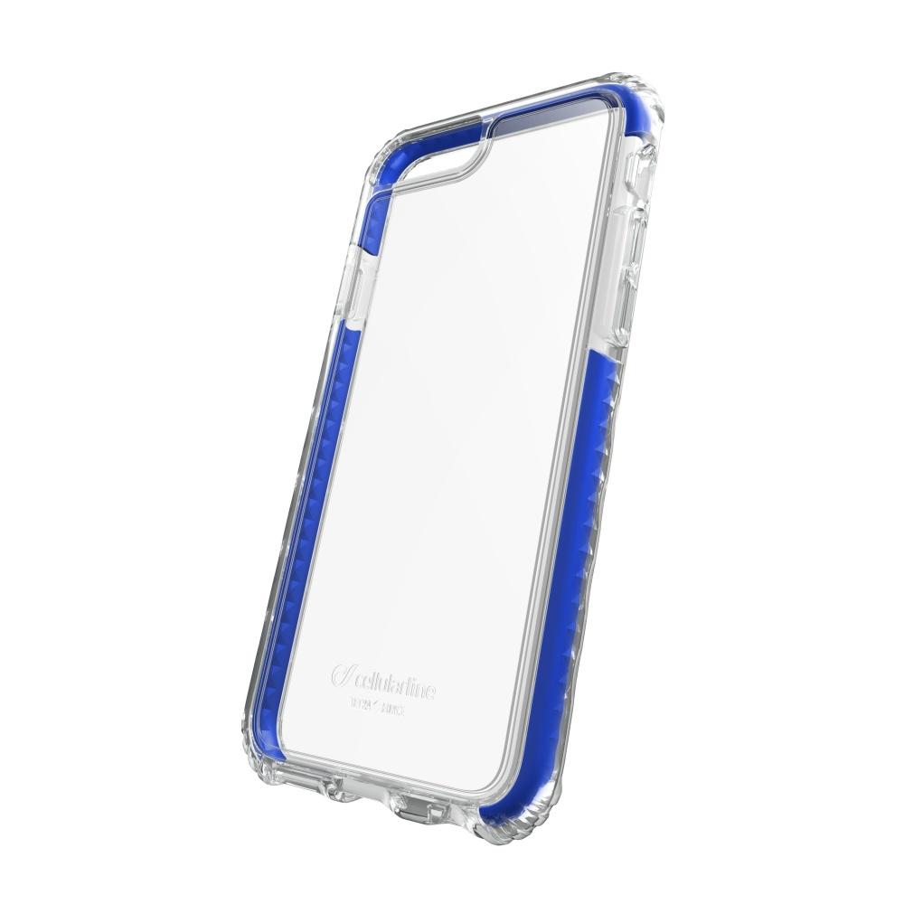 Ultra ochranné pouzdro Cellularline Tetra Force Shock-Tech pro Apple iPhone 7/8/SE (2020), 3 stupně ochrany, modré