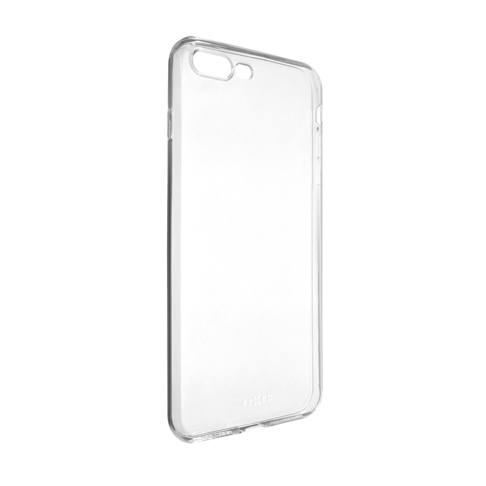 Ultratenké TPU gelové pouzdro FIXED Skin pro Apple iPhone 7 Plus/8 Plus, 0,6 mm, čiré